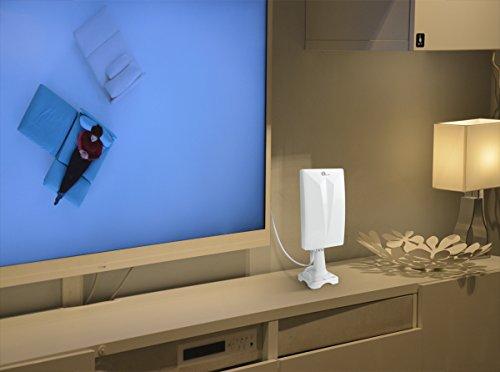 antenne tnt ext rieure 1byone antenne int rieure puissante digitale pour r ception dvb t vhf. Black Bedroom Furniture Sets. Home Design Ideas