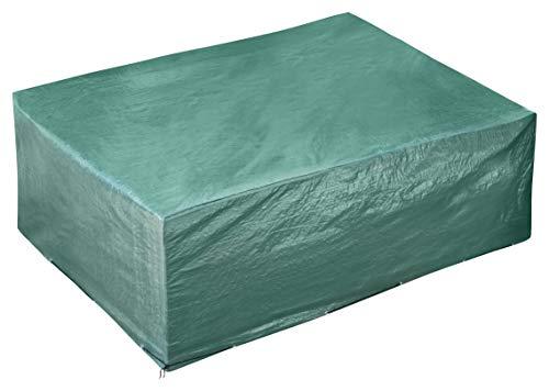 GardenMate® Schutzhülle für Gartenmöbel - 300x250x90cm - Premiumqualität aus 120gsm PE Gewebe (300x250x90cm)