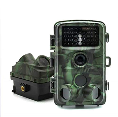 Wildlife Trail Kamera HD 1080P 12MP Wasserdichte Kamera Fernüberwachung Nachtsicht Bewegungserkennung -
