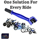GrandPitstop Motorcycle Chain Cleaning Brush/Cycle Chain Cleaner Brush/Bicycle Chain Cleaner Tool Blue