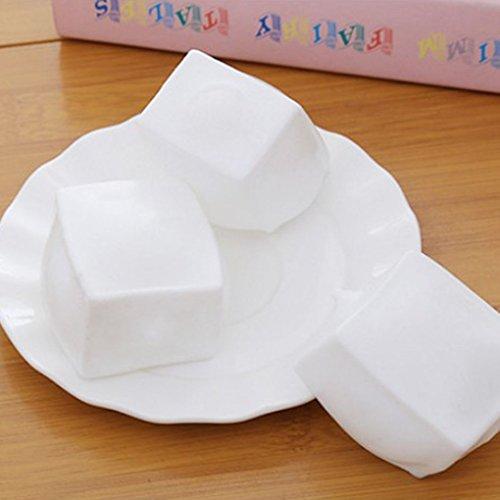 Minzhi Torta Squishy Tofu Fronte di Sorriso di Sueeze Giocattolo Regalo del Capretto Pane Antistress Prank Geek Relief Gadget
