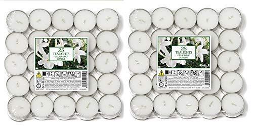 Price's Candles 021961D Duft-Teelichter, Aladino Jasmin, 50 Stück