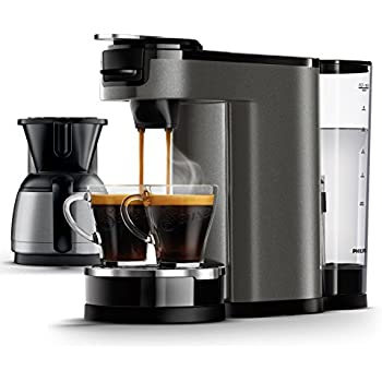 philips senseo hd6596 50 switch premium 2 in 1 kaffeemaschine chrome metall. Black Bedroom Furniture Sets. Home Design Ideas