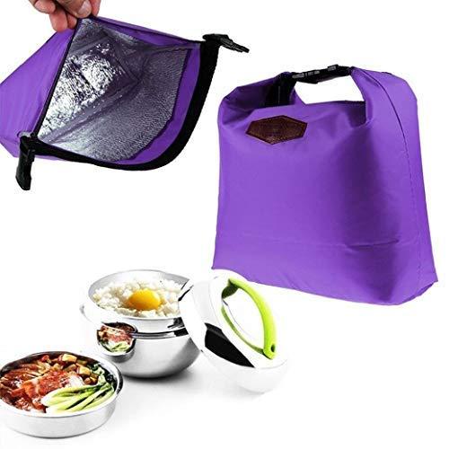NewKelly Wasserdichte Thermo-Kühltasche Lunchbox Tragbare Tragetasche Aufbewahrung Picknicktaschen violett - Hello Kitty Kosmetik-set