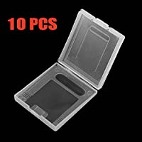Gamelink Clear protective game cartridge case for Gameboy Color GBC pack 10pcs