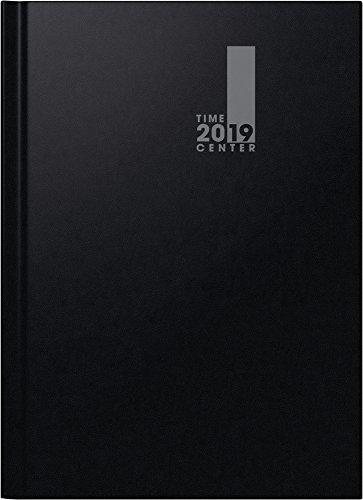 Brunnen 107294019 Buchkalender TimeCenter schwarz