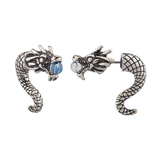 lux-accessories-drachen-ohrstecker-mit-vorder-und-hinterteil-silberfarben-poliert