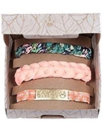 Maaji - Kit 3 Bracelets tressés Bleu