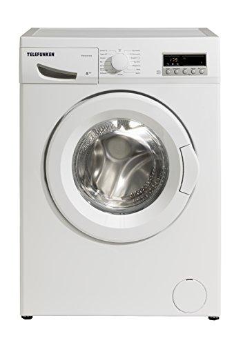 Telefunken TFW4441FC2 Waschmaschine Frontlader / A++ / 171 kWh/Jahr / 1400 UpM / 6 kg / 9900 L/Jahr / Startzeitvorwahl / weiß