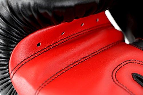 adidas Boxhandschuhe Power 100, Schwarz, 12, ADIPBG100 - 4