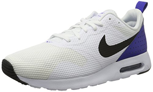 more photos c897c b96ed Nike Air Max Tavas, Herren Sneaker, Weiß (White Black-Paramount Blue