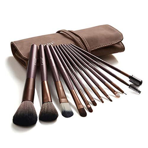 CC-Makeup Brush Pinceaux de Maquillage Pinceau de Maquillage Professionnel Set Pinceaux de Maquillage Premium Pinceau Synthétique Fond de Teint Mélange Poudre pour Le Visage Blush Correcteur