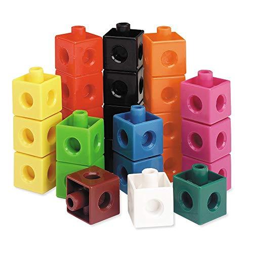 Learning Resources LER7584 Snap Cubes Steckwürfel (Set mit 100 Stück)