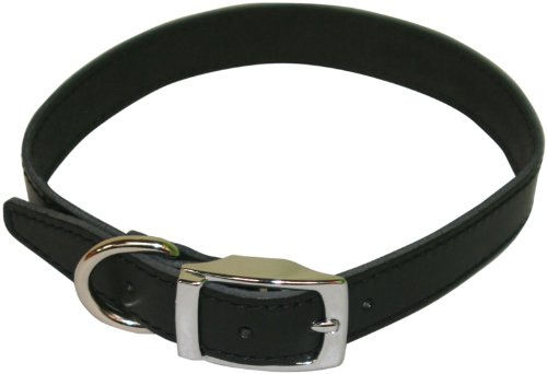 BBD 18-21-inch Plain Leather Collar 1