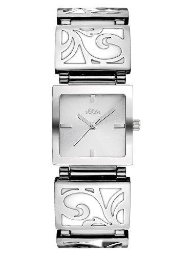s.Oliver Damen-Armbanduhr SO-1952-MQ