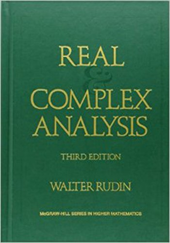 Real and Complex Analysis (International Series in Pure & Applied Mathematics)