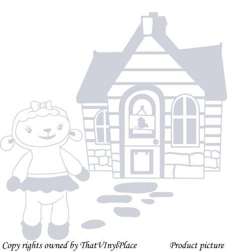 Assemblea e lampada a parete Sticker 60cm x 60cm colore argento metallico Disney, medico, Camera da letto, stanza dei bambini Adesivi, vinile auto, Windows e adesivo parete, Windows Art, decalcomanie, Ornamento vinile ThatVinylPlace