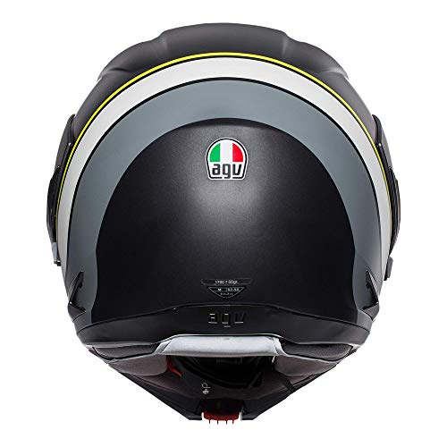 AGV Casco Modulare Compact ST Boston M Nero/Antracit