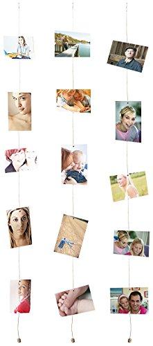 Your Design Seil für Fotos mit 8mini-imanes, Set von 3