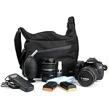 DURAGADGET Mochila Bandolera De Nylon Para Cámara Réflex Nikon D5100 / D5000 /D500
