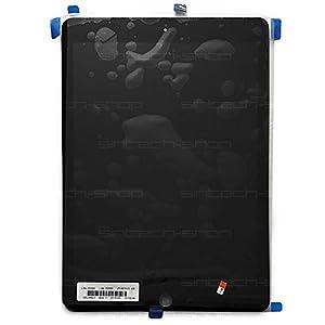 SINTECH© Premium iPad Air 2 Display (Frontscheibe + Touchscreen + LCD) vormontiert, schwarz
