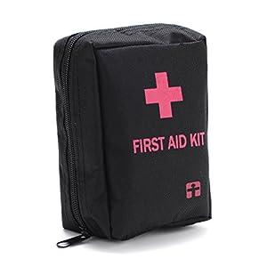 YUUVE Kompakte Erste Hilfe Set Mini – Tasche Rucksack Versorgung für Outdoor – Survival-55 stück