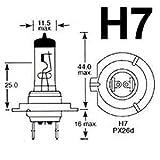 OSRAM 64210 H7 12V 55W KFZ-Scheinwerferlampe...