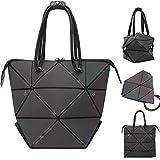 Geometrische Taschen Henkeltaschen Mode Shopper Damen Groß Veränderbare Form Schultertaschen...