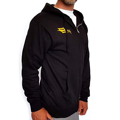 Naish - Diamond Hoodie Zipper (Black) Sweatjacke Pulli Kapuzenpullover (Black), Größe:L -
