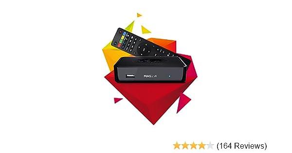 MAG 254 Latest Original Linux IPTV/OTT Box - Fast Processor, faster than  MAG 250-Genuine Original Box From Infomir