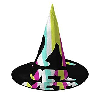 NUJIFGYTCRD GTA Yeti Hexenhut Halloween Unisex Kostüm für Urlaub Halloween Weihnachten Karneval Party