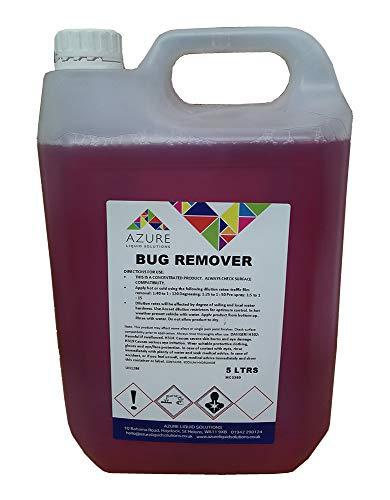 Azure Bug Remover Glasverkleidung, Insekten, Teer, Vogel, Limette, Konzentrat, 5 l