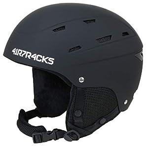 Airtracks Skihelm- Snowboardhelm SAVAGE T2X oder MASTER T52 mit Ventilationssystem und stufenloser Anpassung – Ski- Snowboard Helm – Helmet – 5 x Farben Matt zur Auswahl