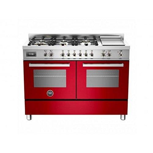 Bertazzoni Küche Professional pro1206gmfedvit 120cm 2Öfen rot