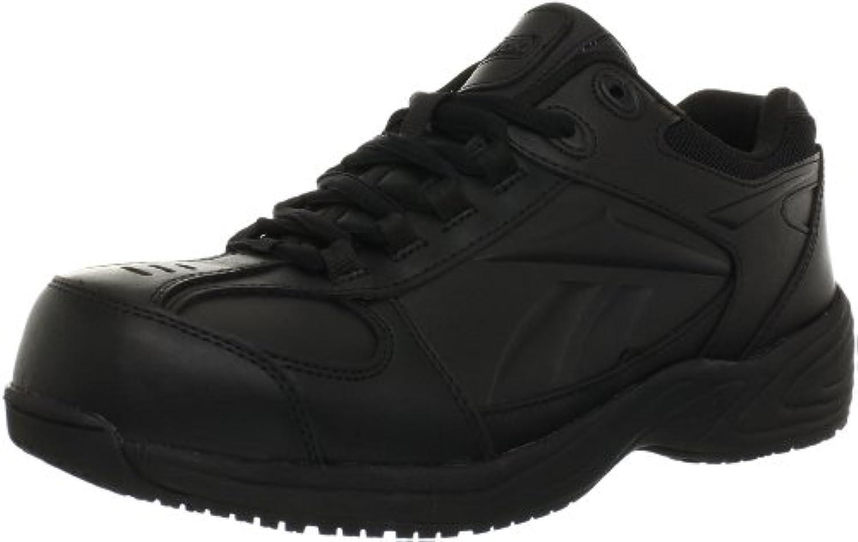 Reebok Men's Street Sport Jogger Oxford Work Shoes Black 14 DM US