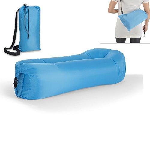 Preisvergleich Produktbild Aufblasbare Liege, Air Schlaf-sofa Luft-Couch Wasserdicht mit Tragetasche für Camping / Beach / Park / Hinterhof.