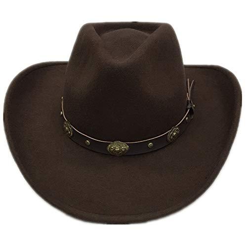 Lonme Wolle Herren Hüte, Mützen & Caps Cowboyhüte McCree Hüte OW McCree Cosplay Spiel Kostüm ()