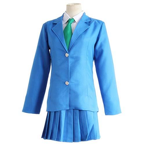 Erwachsenen Kostüm Für Conan - YKJ Anime Cosplay Kostüm Blau JK Uniform Halloween Party Kostüm,Full Set-XL