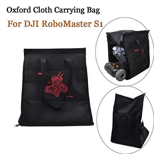 Webla Aufbewahrungstasche Oxford Stoffkoffer für DJI RoboMaster S1 Lernroboter, Schwarz S1 Audio