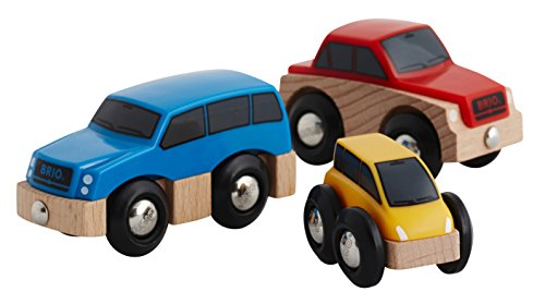 BRIO World 33759 - Autos, 3-teilig