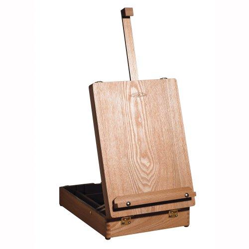 winsor-newton-medway-caballete-de-mesa-622-cm-con-caja-madera-de-olmo