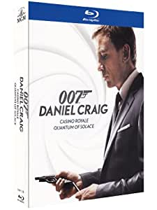 007 Daniel Craig - Casino Royale + Quantum of solace [Blu-ray] [Import italien]