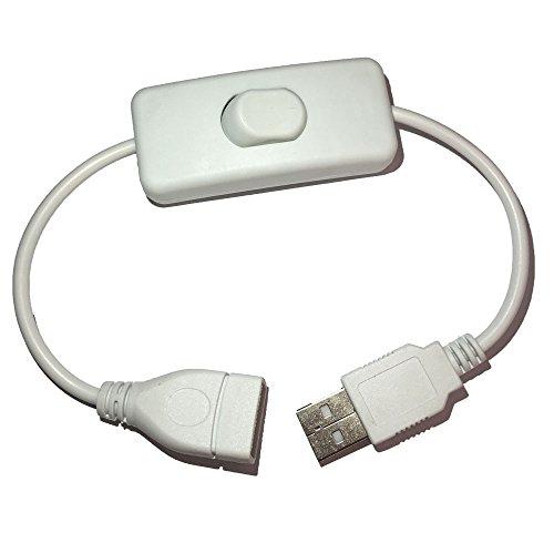 Cable USB con interruptor de apagado para Raspberry Pi Arduino