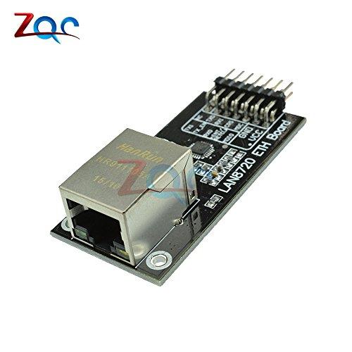 LAN8720 Modul physikalische Schicht Transceiver PHY-Modul Embedded Web Server RMII Interface MDIX Regler I/O Spannungs Modul