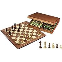 Philos 2503 - Juego de ajedrez con tablero y figuras en caja (madera)