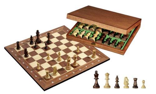 Philos-2503-Turnierschachset-mit-Schachbrett-und-Schachfiguren-in-Figurenbox