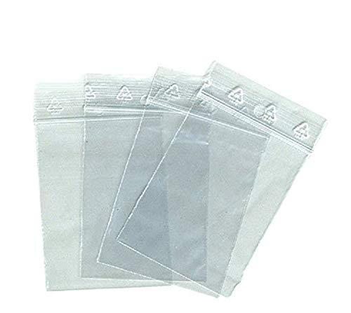 Beutel Zip: Alle Formate-alle Mengen: 26unterschiedlichen Formaten (der Tasche Zip Die kleinste 40x 60mm den größten Staubsaugerbeutel Zip 400x 400mm). 10Stück, 50, 100, 500, 1000, 3000, 5000oder 10.000EX (verfügbar nach dem Format). Tasche Kunststoff Zip lebensmittelechter, Einfrieren und-Probe Marke univers Grafik-Rechnung mit MwSt. Gewerbliche Mitglieder Außerhalb, 50 x 70 mm- 5 x 7 cm, 500 -