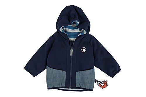 Sigikid Jungen Jacke Wendejacke, Baby, Blau (Navy Blazer 294), 62