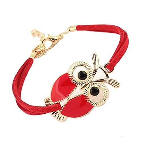toogoor-rouge-bracelet-cuir-pu-hibou-collection-bracelets