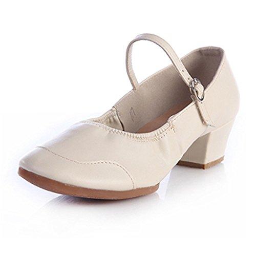 CHNHIRA Damen jazzdance Schuhe Fitness Sportschuhe Tanzschuhe Weiß